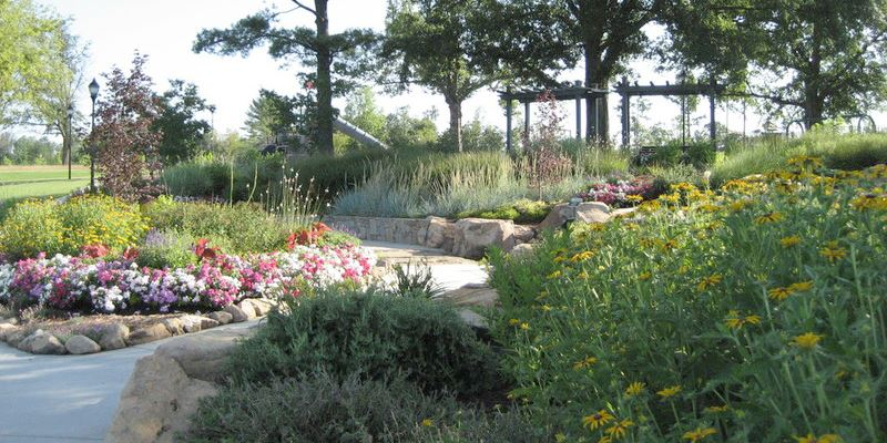 Legacy Park view of stream