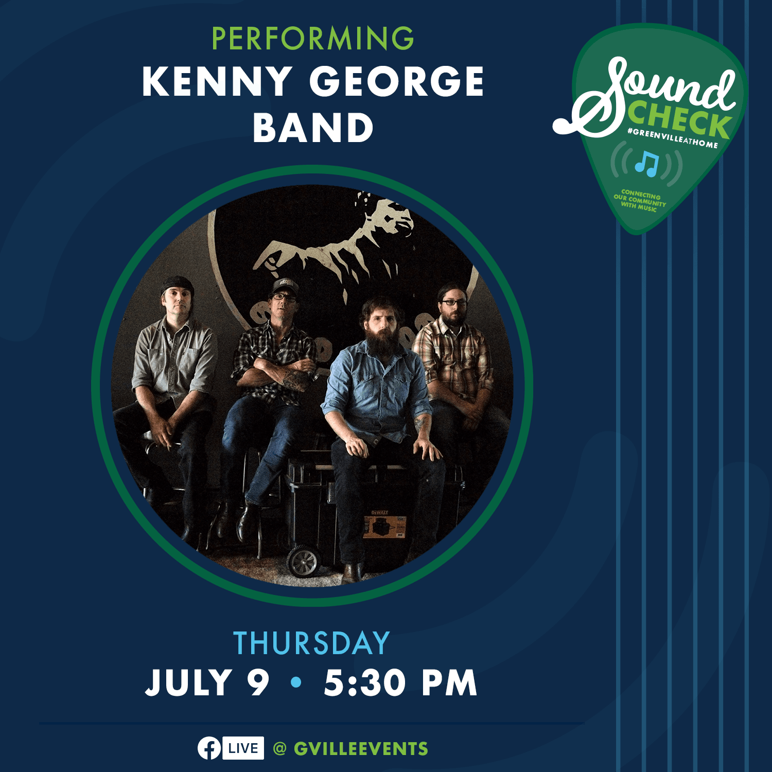Kenny George Band - July 9