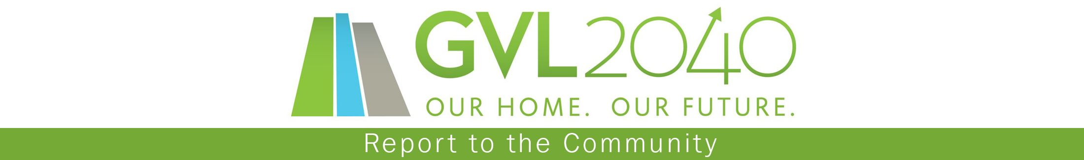 GLV-2040 logo and text: Report to the Community